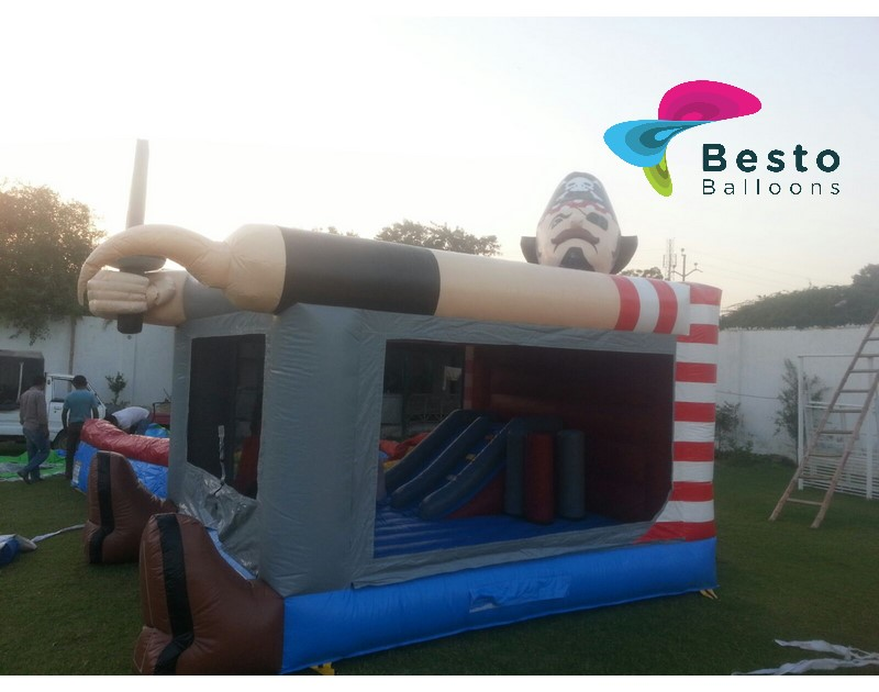 Inflatable Slides and Bouncing Combo Rental Service