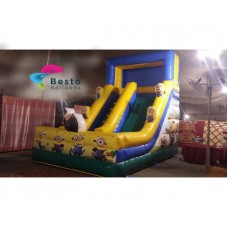Minion Inflatable Slides and Bouncing Combo Rental Service