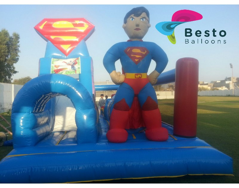 Superman Inflated Arena Rental Services