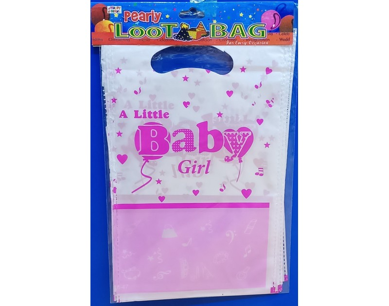 Its a Baby Girl Goodie Bags 10 Pcs Pack