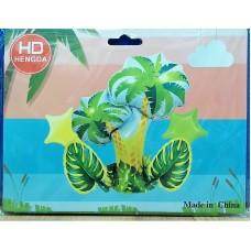 Jungle Theme 5 Pcs Foil Balloons Bouquet