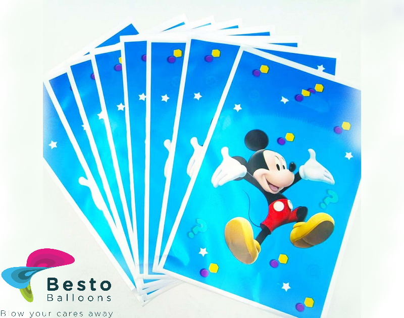 Mickey Mouse Goodie Bags 10 pc