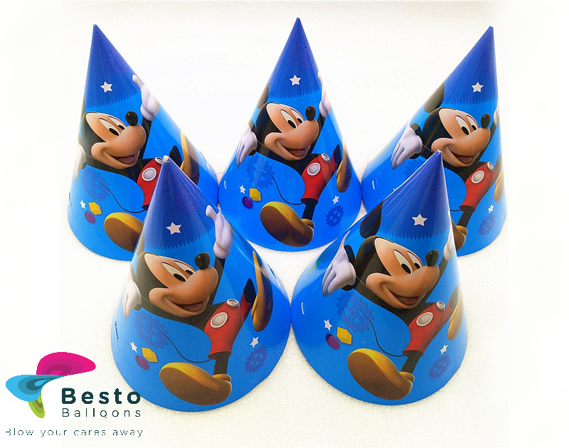 Mickey Mouse Caps 10pc