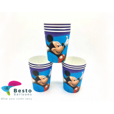 Mickey Mouse Paper Cups 10 pc