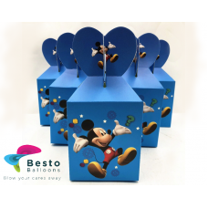 Mickey Mouse Goodie Boxs 10 pc