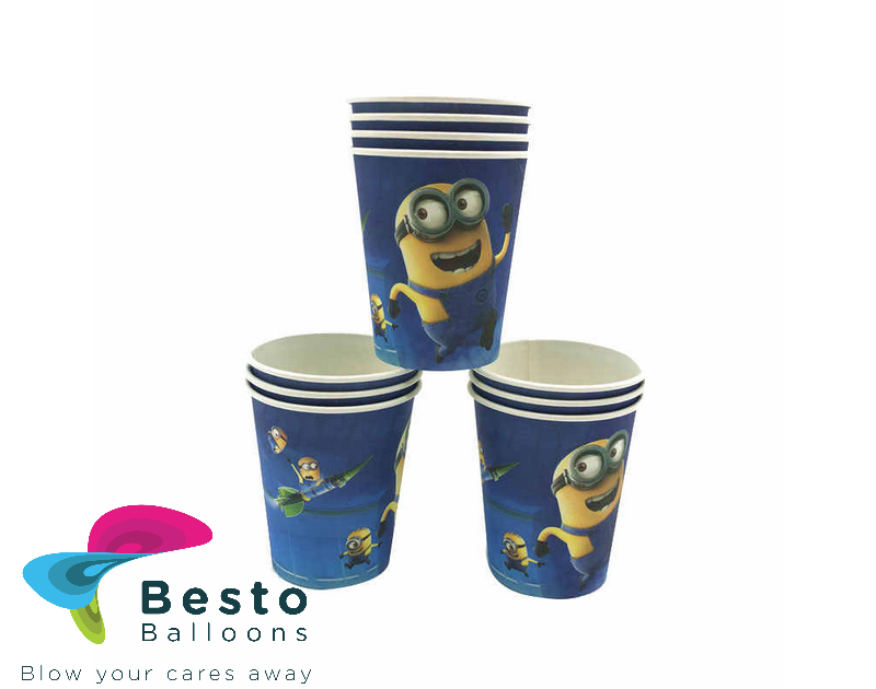 Minion Paper Cups 10 pcs