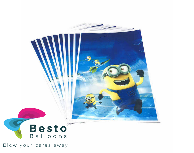 Minion Goodie Bags 10 Pcs