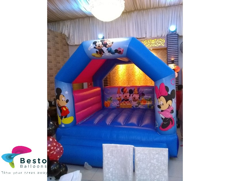 Mickey and Minnie Mouse Bouncing Castle Rental Service