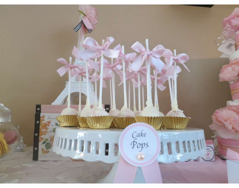 Parisian Baby Shower Theme