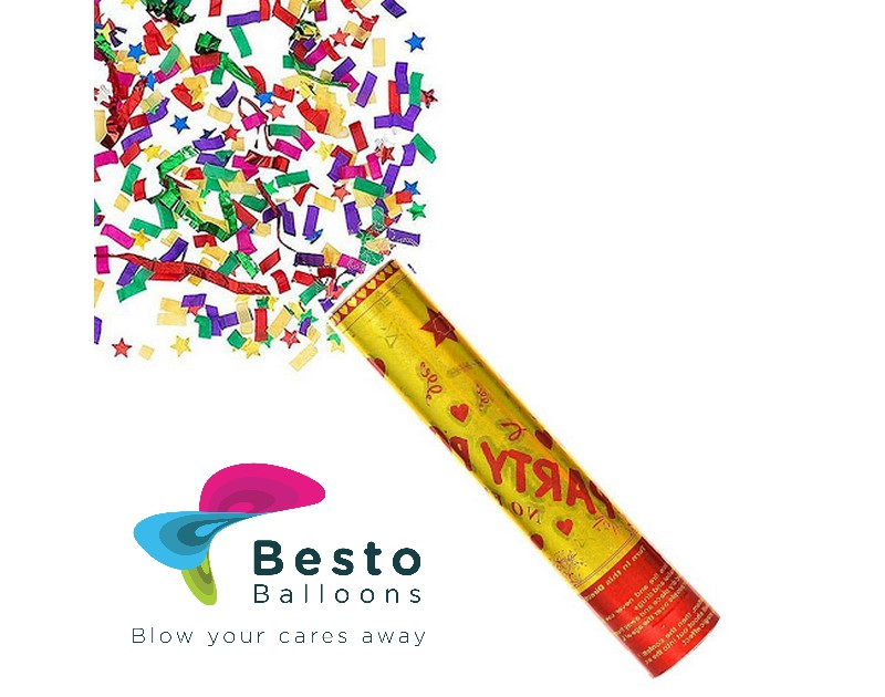 Party Poppers 20cm
