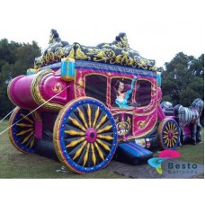 Horse Cart Inflatable Arena Rental Service