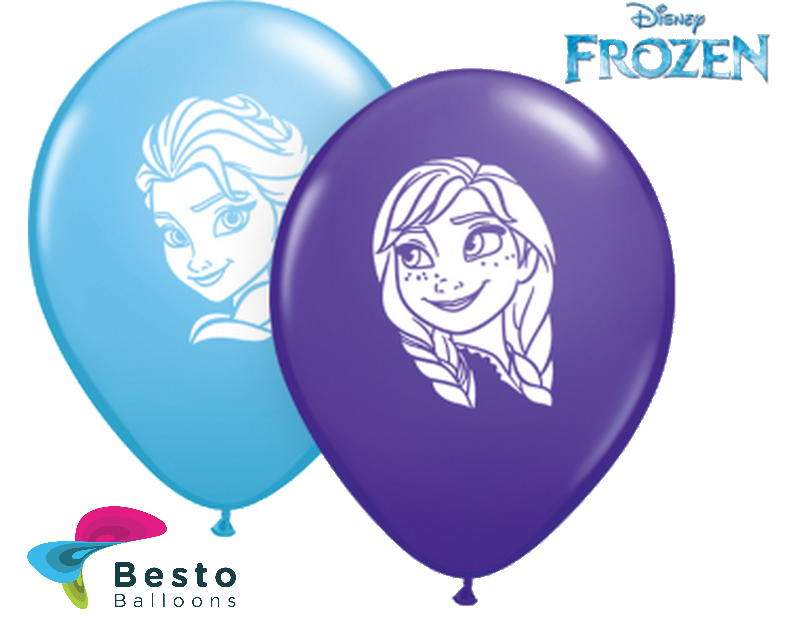 Customized Frozen Double Side Print Balloons (2)