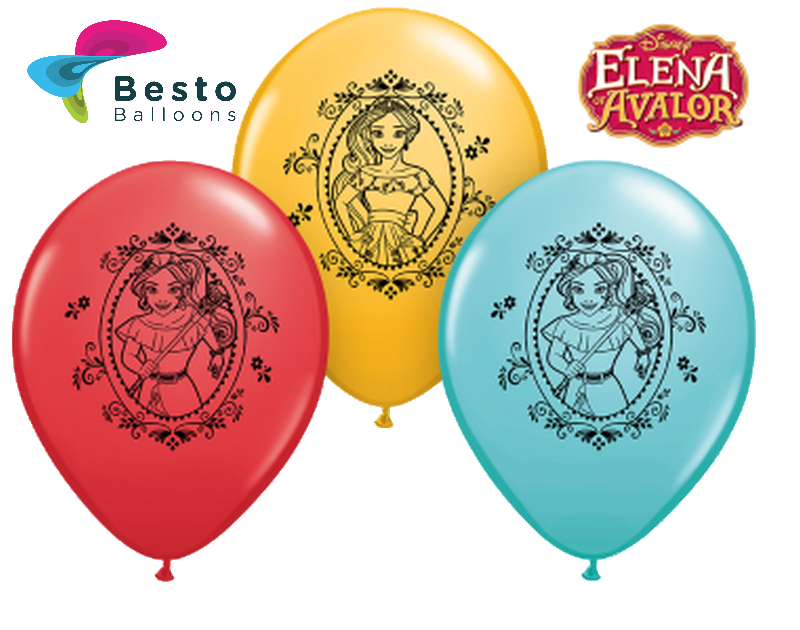Customized Disney Elena Of Avalor Double Side Print Balloons