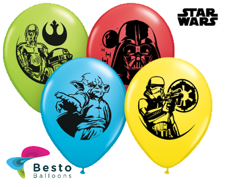 Customized Starwars Double Side Print Balloons (2)