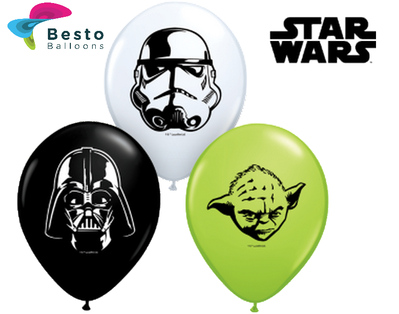 Customized Starwars Double Side Print Balloons (1)