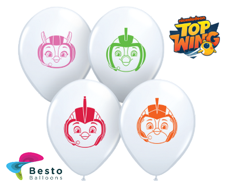 Customized Top Wings Double Side Print Balloons