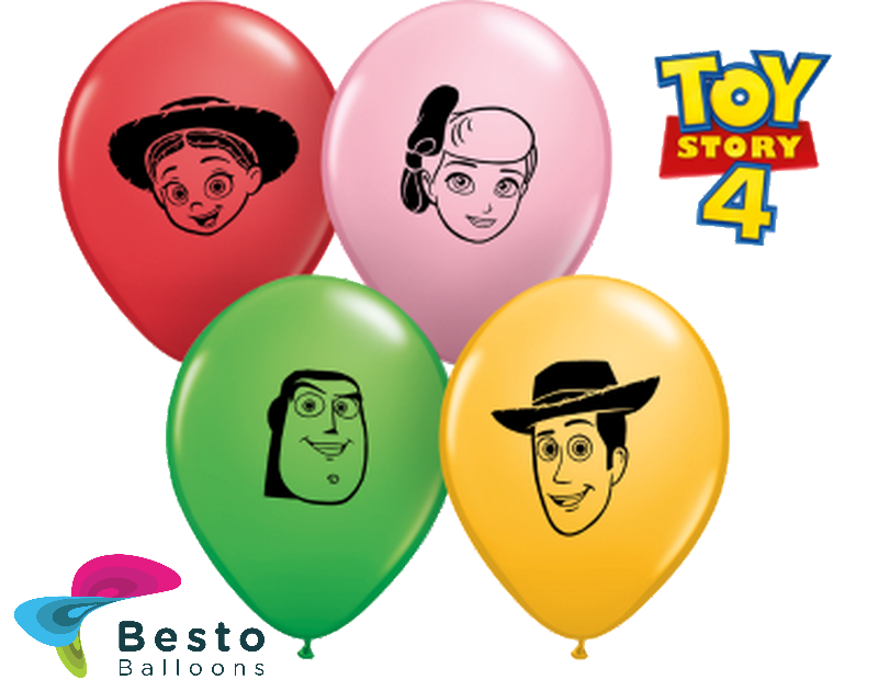 Customized Toy Story Double Side Print Balloons (1)