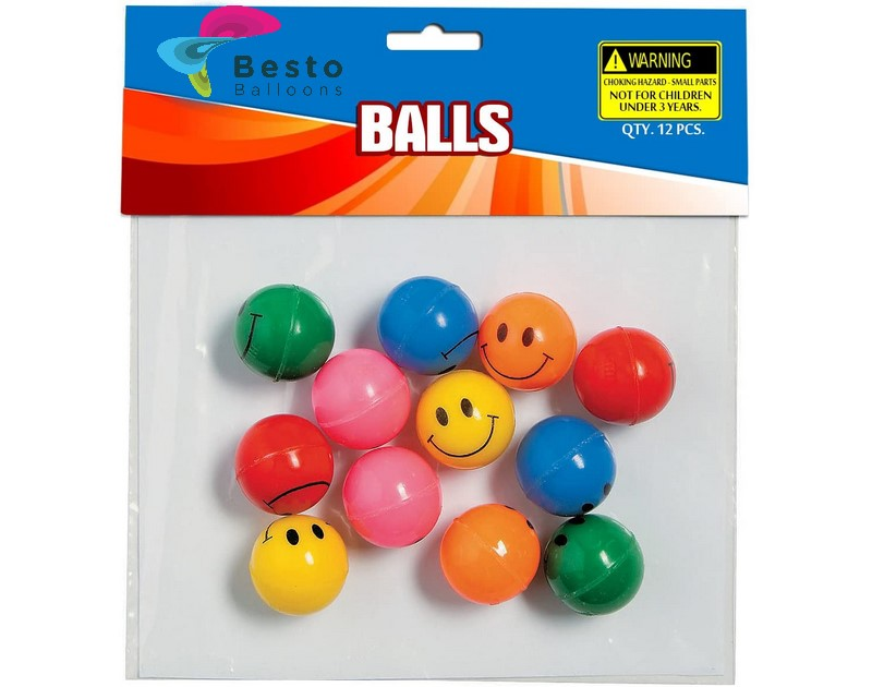 Funny Face Rubber Ball
