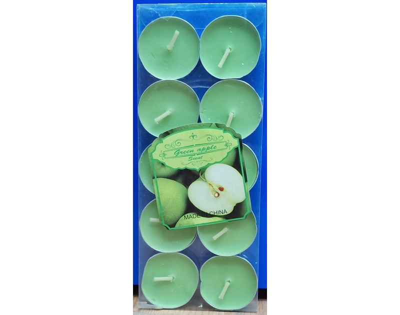 Scented Candles Green Apple
