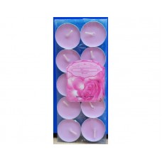 Scented Candle Rose pack of 12