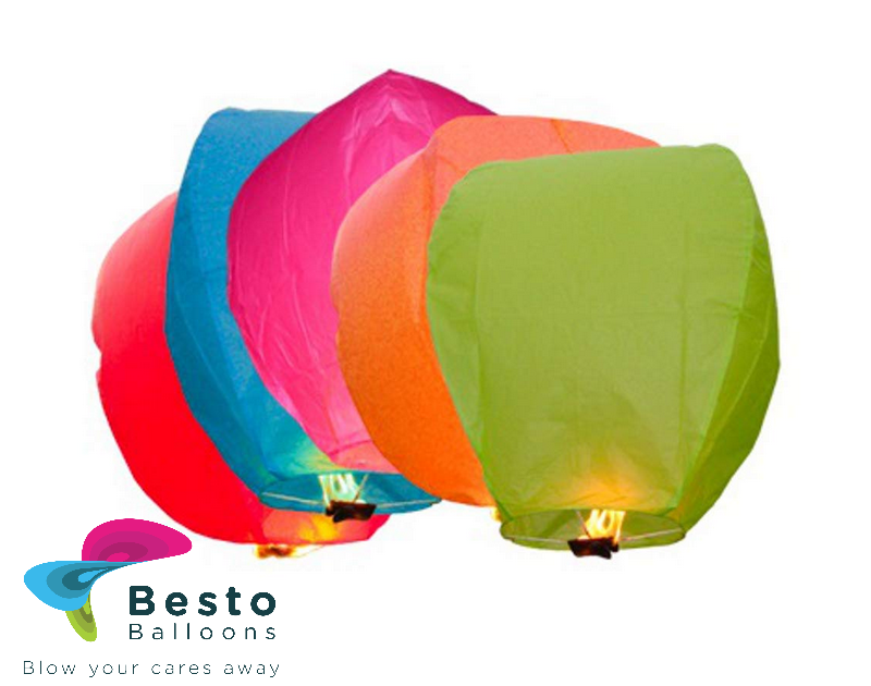 Sky Lanterns-multicolor
