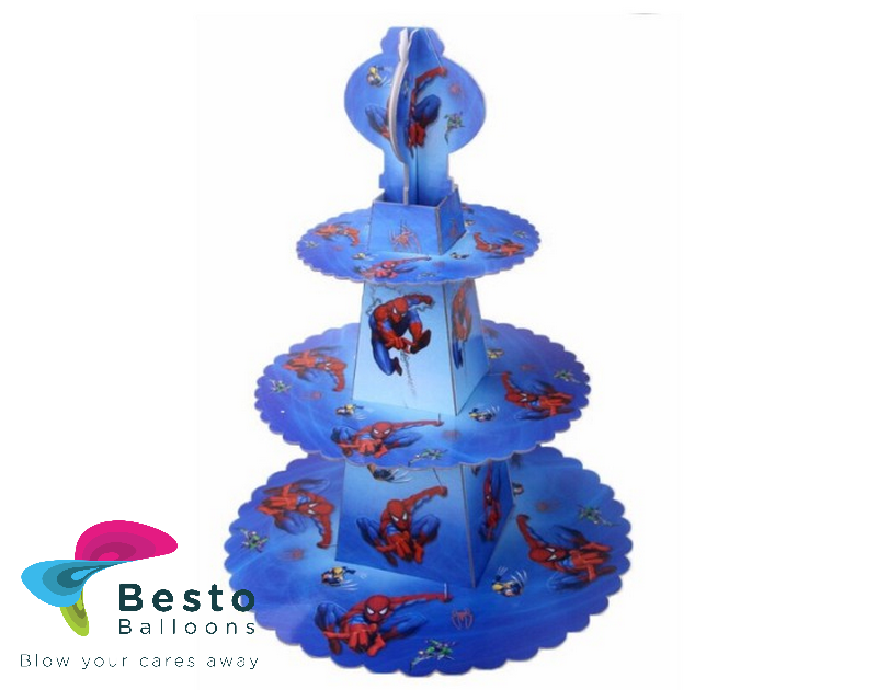 Spiderman  Cupcake stand 1pc