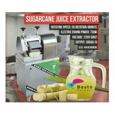Sugarcane Juice Rental Machine with Staff Service