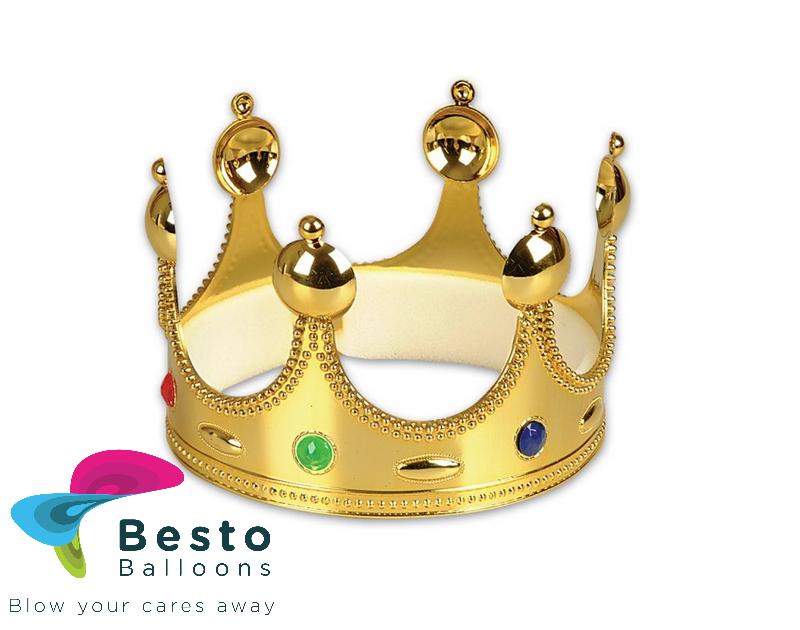Golden/silver crown