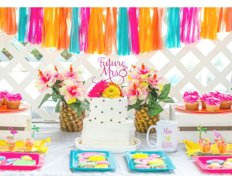 Tropical Shower Bridal Shower Theme