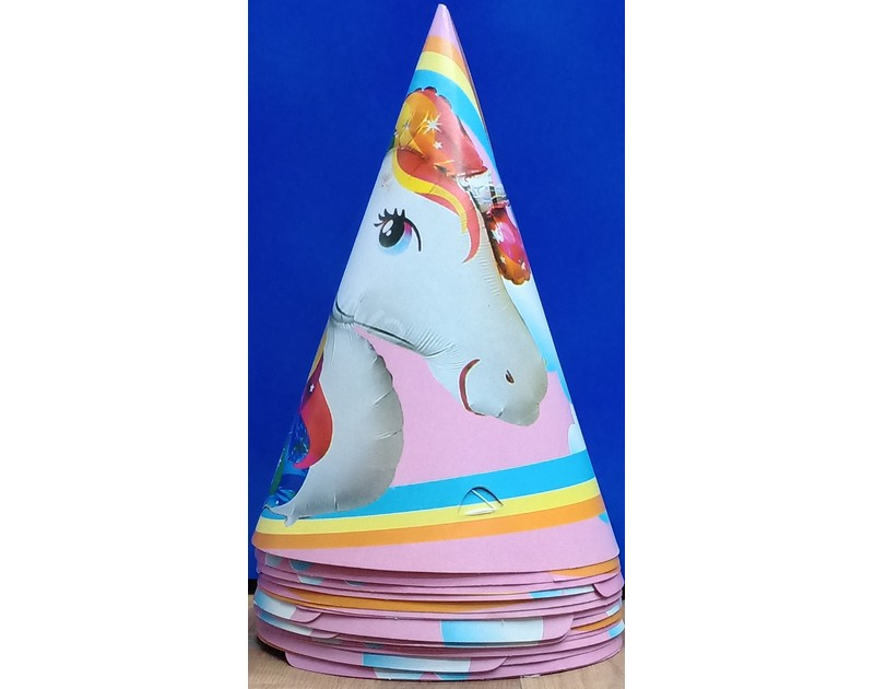 Unicorn Birthday Caps