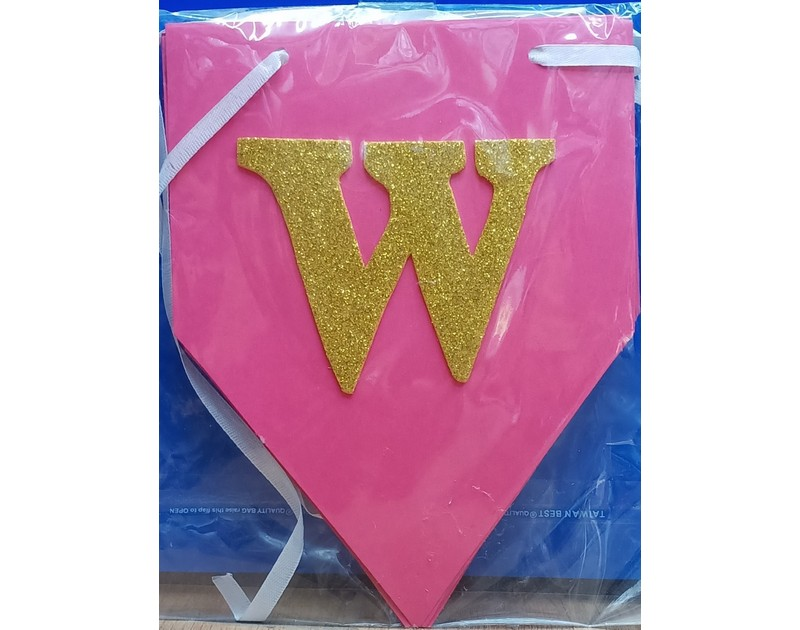 Pink Welcome Chain