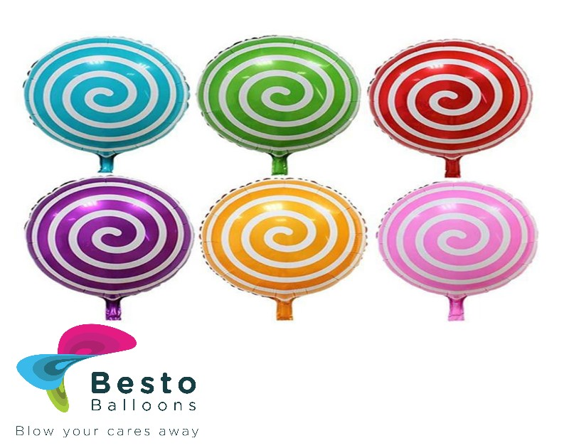 Candy Lollipop Foil Balloon