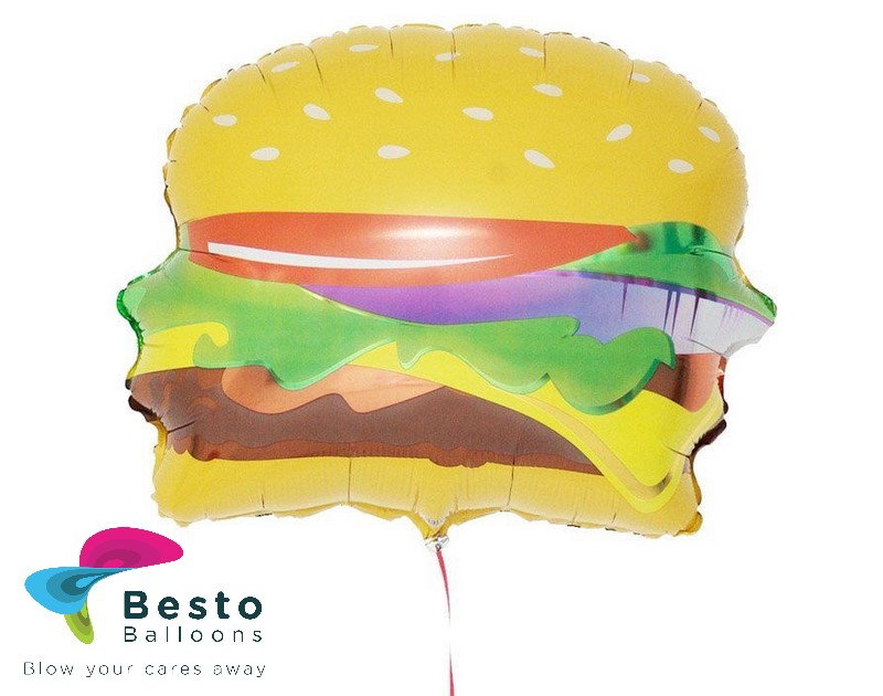 Hamburger Shaped Foil Balloon