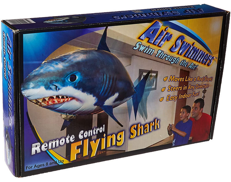 Air Swimmers Flying Shark and Fish Remote Control